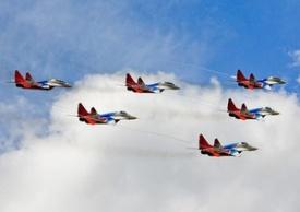 Стрижи, самолеты|Фото: 100-летие ВВС