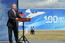 Владимир Путин на 100-летии ВВС|Фото: Кремль