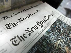 New York Times Фото:rferl.org