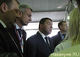 """выставка """"Оборона и защита 2012"""", Куйвашев, Носов Фото: Накануне.RU"""