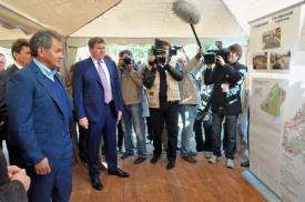 Подмосковье, Шойгу, Газпром Космические системы|Фото: Пресс-служба Губернатора Московской области