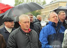 Краснотурьинск митинг  в защиту БАЗа Андрей Альшевских, Валерий Турлаев|Фото: