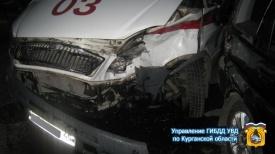 ДТП, Хонда врезалась в скорую|Фото: http://45.gibdd.ru