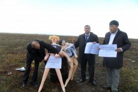 сожжение чучела Ромни на Ямале|Фото:КРО