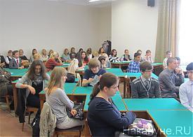 профессор СЯ Ишань лекция в УрФУ Фото: Накануне.RU