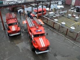 ГО, пожарная машина, учения|Фото:http://www.kurgan-city.ru