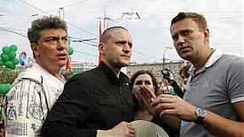 Немцов, Удальцов, Навальный|Фото: