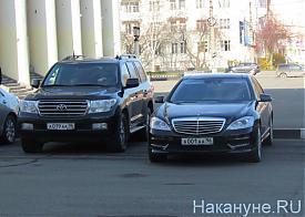 инаугурация Носова, кортеж губернатора Фото: Накануне.RU