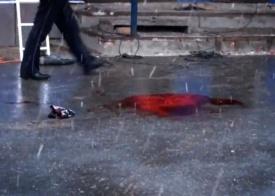 сургут, чиновники, расстрел, полиция, оцепление, кровь Фото: surgut-today.ru