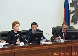Комарова, Кобылкин, Богомолов|Фото: Накануне.RU
