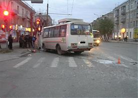 ДТП автобус паз Курган|Фото: ГИБДД Курганской области
