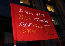 пикет, закон о митингах|Фото: alshevskix.livejournal.com