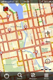 пробки, затор, екатеринбург|Фото:http://twitpic.com