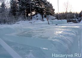 Северка, водохранилище, карьер, лед, ледовый городок|Фото: Накануне.RU