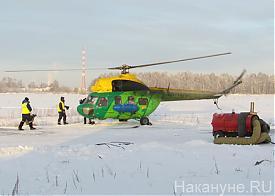 Медицина катастроф Решеты вертолет Фото: Накануне.RU
