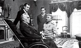 Иосиф Сталин, Франклин Рузвельт Фото: rusrep.ru