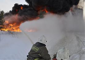 пожар парафин Нижневартовск|Фото: пресс-служба ГУ МЧС по ХМАО