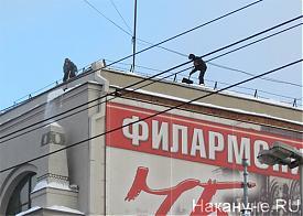 Екатеринбург, уборка снега, сугробы Фото: Накануне.RU