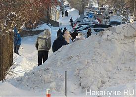 Екатеринбург, снег, сугробы|Фото: Накануне.RU