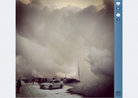 сургут, коммунальная авария, пар, кипяток|Фото: instagram.com/nitrouzzz/