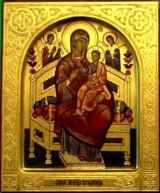 икона пресвятой богородицы всецарица, исцеляет рак|Фото: