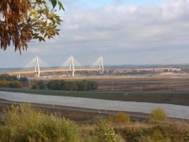 Мост через реку Ока в районе города Мурома|Фото: http://rosavtodor.ru