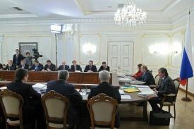 заседании комиссии по ТЭК и экологической безопасности Фото: .kremlin.ru