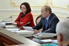 президент рф владимир путин помощник президента эльвира набиуллина Фото: kremlin.ru