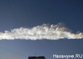 челябинск небо упал метеорит|Фото: Накануне.RU