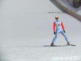 гора долгая прыжки с трамплина лыжи|Фото: Накануне.RU