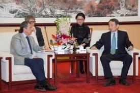 президент ОАО Роснефть Игорь Сечин встреча в Китае|Фото: www.rosneft.ru