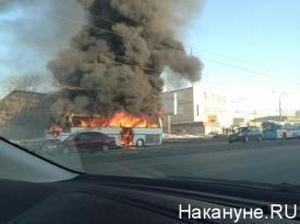 пожар, автобус|Фото: анастасия южакова