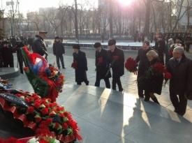 силин, возложение цветов|Фото: дип губернатора свердловской области