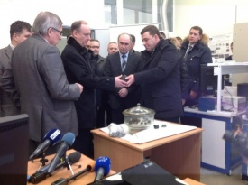 куйвашев, патрушев, метеорит Фото:http://www.facebook.com