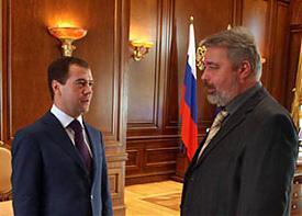 медведев новая газета |Фото: