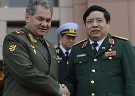 министр обороны РФ Сергей Шойгу президент Вьетнама Чионг Тан Шанг|Фото: