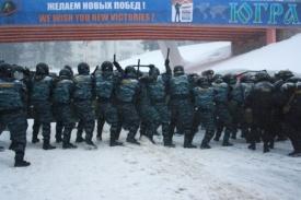 омон полиция беспорядки подготовка|Фото: http://86.mvd.ru