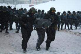 омон полиция задержание беспорядки|Фото: http://86.mvd.ru