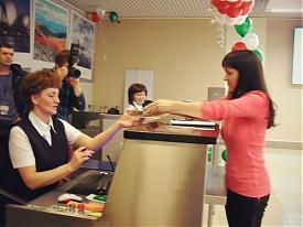 Кольцово стойки регистрации|Фото:Накануне.RU