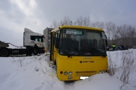 дтп, маршрутка, грузовик|Фото:http://66.gibdd.ru