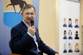 глава Сургута Дмитрий Попов региональный Нефорум блогеров Фото: http://zizis.livejournal.com/244666.html