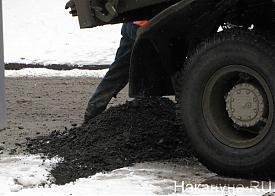 асфальт, снег, укладка дороги, ремонт|Фото: Накануне.RU