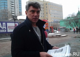 пикет в поддержку пановой навального немцов Фото: Накануне.RU