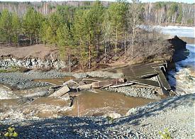 реж, плотина, потоп, мчс Фото: МЧС Свердловской области