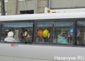 1 мая, первомай, автобус|Фото: Накануне.RU