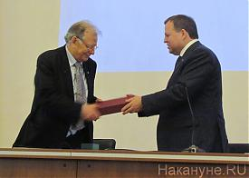 Жорес Алферов,  Валерий Чарушин|Фото: Накануне.RU