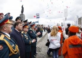 парад победы, 9 мая, екатеринбург Фото: