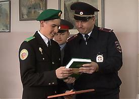 школьник, кадет, Курган |Фото: 45.mvd.ru