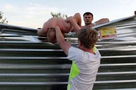 Защитники Хопра, драка, ЧОП|Фото: движение в защиту хопра