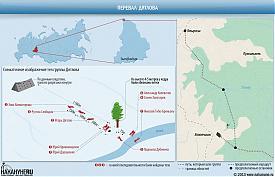 инфографика перевал группы Дятлова|Фото: Накануне.RU